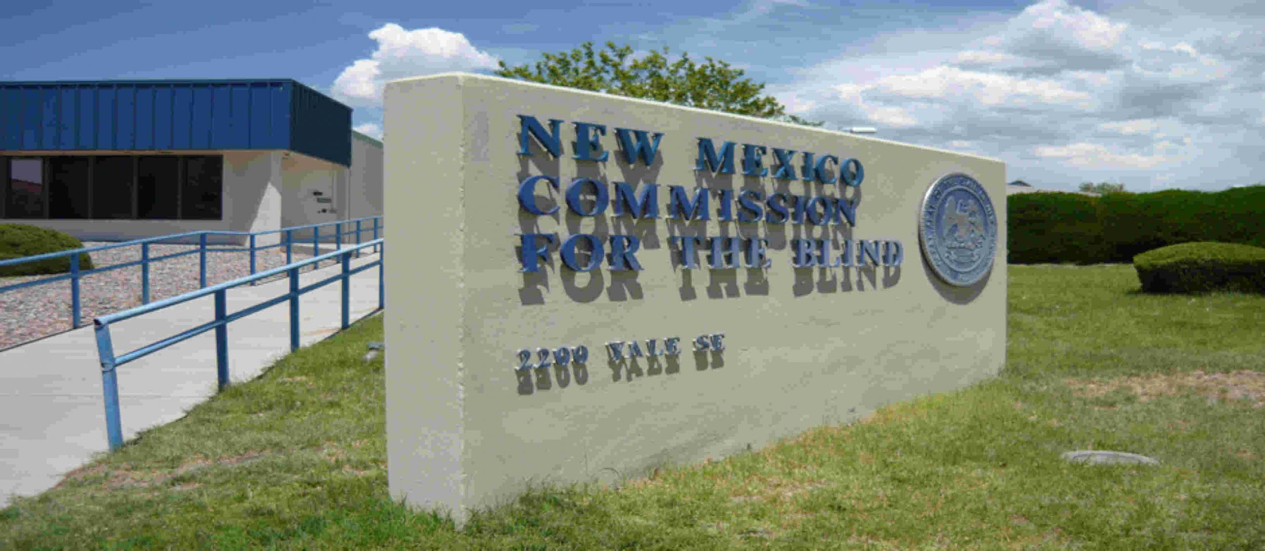 new mexico commission for the blind sign